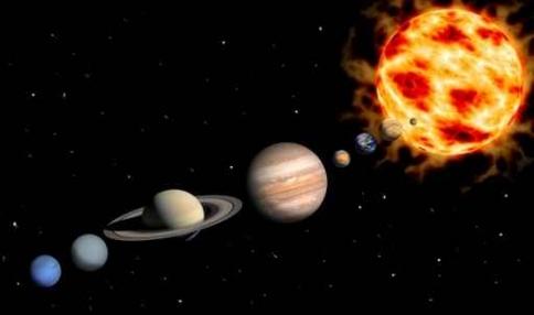 Fototapety KOSMOS planety 9884-big