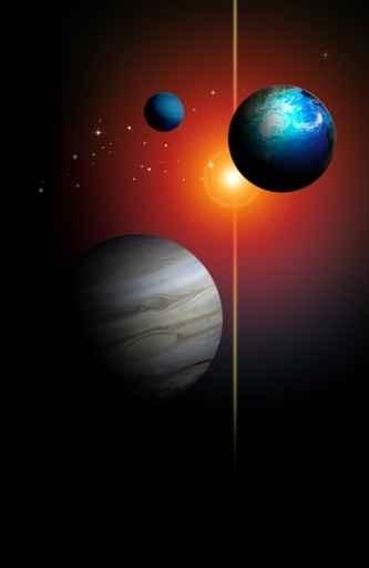 Fototapety KOSMOS planety 9886-big
