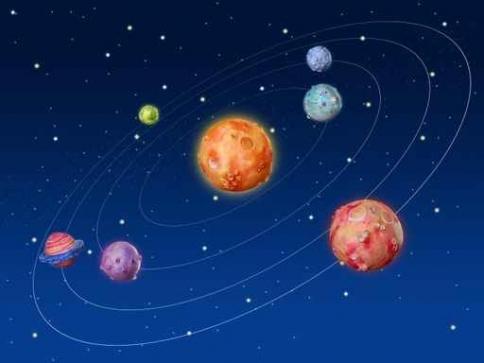 Fototapety KOSMOS planety 9888-big