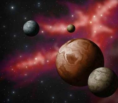 Fototapety KOSMOS planety 9891