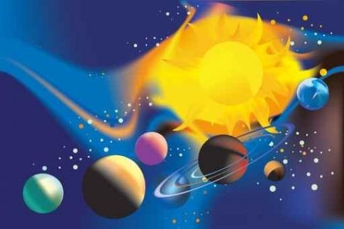 Fototapety KOSMOS planety 9892-big