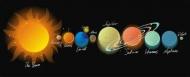 Fototapety KOSMOS planety 9893 mini