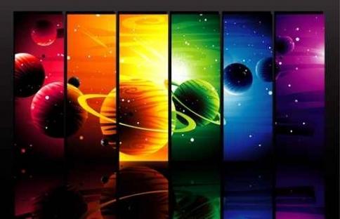 Fototapety KOSMOS planety 9895-big
