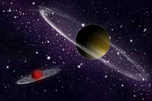 Fototapety KOSMOS planety 9904-big