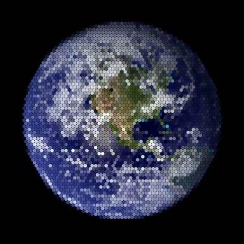 Fototapety KOSMOS planety 9907-big