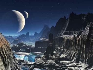 Fototapety KOSMOS planety 9908