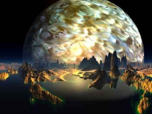 Fototapety KOSMOS planety 9909-big