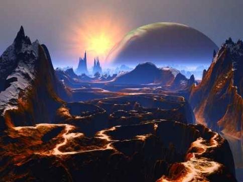 Fototapety KOSMOS planety 9911-big