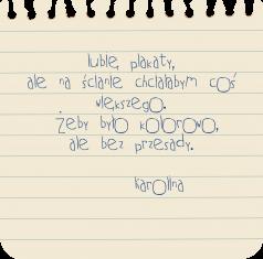 notatka od klientki